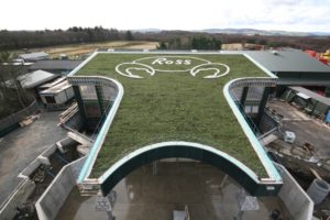 580m² Green Roof laid on 26.2.09
